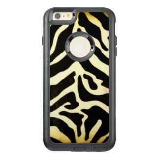 Funda Otterbox Para iPhone 6/6s Plus Diseño negro de la impresión del modelo del tigre