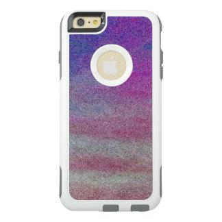 Funda Otterbox Para iPhone 6/6s Plus Diseño púrpura del arte de la onda de las