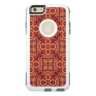 Funda Otterbox Para iPhone 6/6s Plus Diseño rizado dibujado mano colorida abstracta del