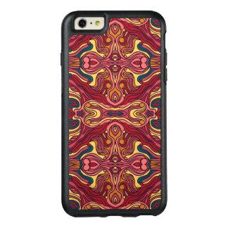 Funda Otterbox Para iPhone 6/6s Plus Diseño rizado dibujado mano colorida abstracta del