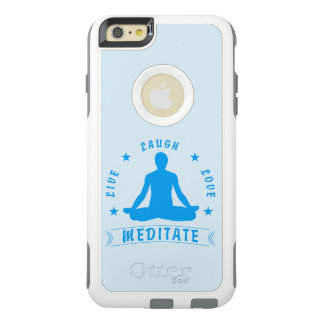 Funda Otterbox Para iPhone 6/6s Plus El amor vivo de la risa Meditate el texto