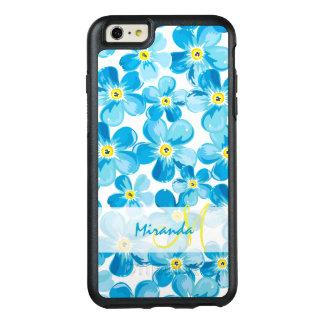 Funda Otterbox Para iPhone 6/6s Plus El azul vibrante de la acuarela me olvida no