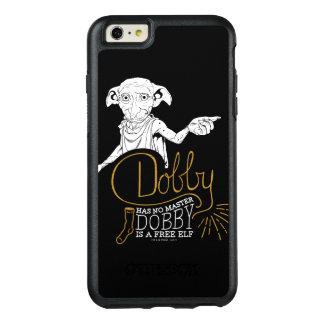 Funda Otterbox Para iPhone 6/6s Plus El Dobby de Harry Potter el | no tiene ningún amo