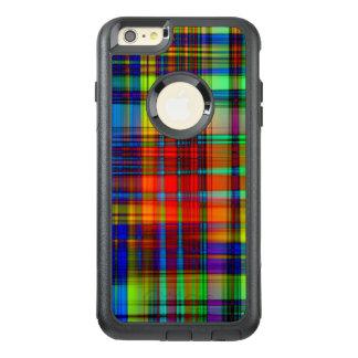 Funda Otterbox Para iPhone 6/6s Plus El extracto colorido raya arte