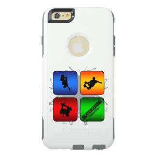 Funda Otterbox Para iPhone 6/6s Plus Estilo urbano que anda en monopatín que sorprende