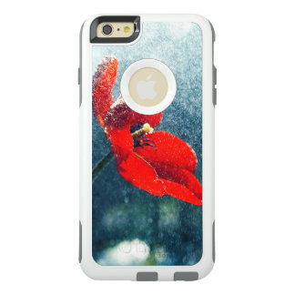 Funda Otterbox Para iPhone 6/6s Plus Flor en la lluvia