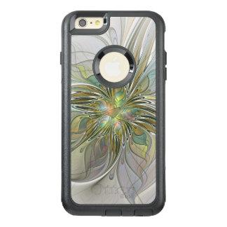 Funda Otterbox Para iPhone 6/6s Plus Flor moderna del arte del fractal de la fantasía