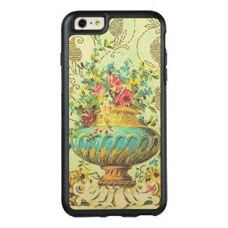 Funda Otterbox Para iPhone 6/6s Plus Florero de lujo del vintage con las flores color
