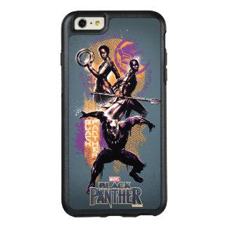 Funda Otterbox Para iPhone 6/6s Plus Guerreros de la pantera negra el | Wakandan