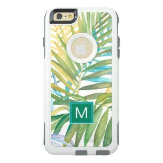 Funda Otterbox Para iPhone 6/6s Plus Hojas de palma tropicales