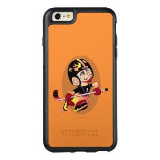 Funda Otterbox Para iPhone 6/6s Plus iPhone de Apple del DIBUJO ANIMADO del JUGADOR de