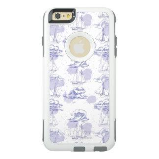 Funda Otterbox Para iPhone 6/6s Plus La acuarela agita y envía el modelo