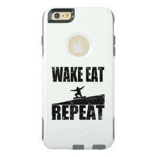 Funda Otterbox Para iPhone 6/6s Plus La estela come la repetición #2 (el negro) de la