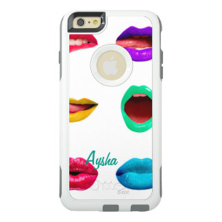 Funda Otterbox Para iPhone 6/6s Plus Labios coloridos personalizados
