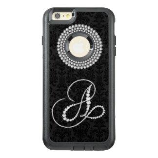 Funda Otterbox Para iPhone 6/6s Plus Letra blanca femenina A del monograma de la