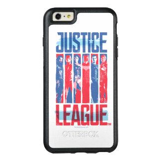 Funda Otterbox Para iPhone 6/6s Plus Liga de justicia arte pop azul y rojo del | del
