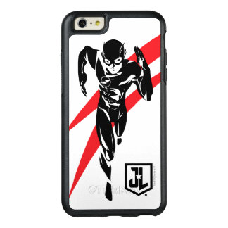 Funda Otterbox Para iPhone 6/6s Plus Liga de justicia el | el flash que corre arte pop