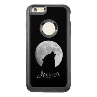 Funda Otterbox Para iPhone 6/6s Plus Lobo que grita en la Luna Llena, su nombre