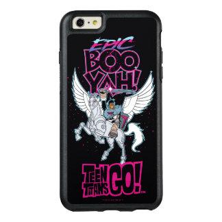 Funda Otterbox Para iPhone 6/6s Plus ¡Los titanes adolescentes van! Cyborg del guerrero