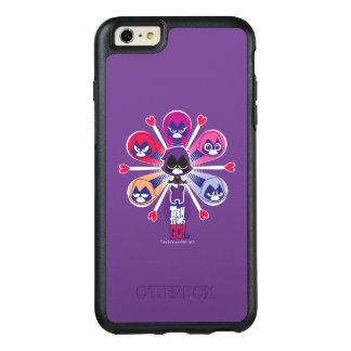 Funda Otterbox Para iPhone 6/6s Plus ¡Los titanes adolescentes van! Emoticlones del