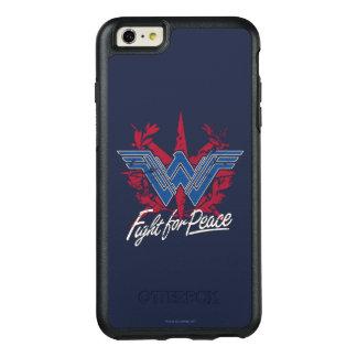 Funda Otterbox Para iPhone 6/6s Plus Lucha de la Mujer Maravilla para el símbolo de paz