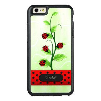 Funda Otterbox Para iPhone 6/6s Plus Mariquitas de las mariquitas en el iPhone 6 de