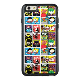 Funda Otterbox Para iPhone 6/6s Plus Modelo de la compilación de la liga de justicia de