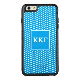 Funda Otterbox Para iPhone 6/6s Plus Modelo de la gamma el | Chevron de Kappa Kappa