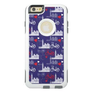 Funda Otterbox Para iPhone 6/6s Plus Modelo de las señales de Londres