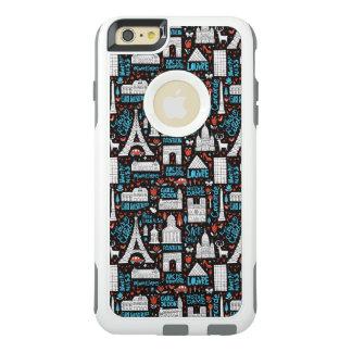 Funda Otterbox Para iPhone 6/6s Plus Modelo de los símbolos de Francia el |