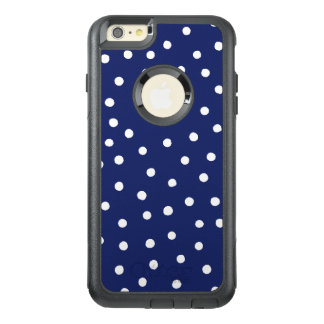 Funda Otterbox Para iPhone 6/6s Plus Modelo de puntos del confeti de los azules marinos