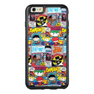 Funda Otterbox Para iPhone 6/6s Plus Modelo del cómic de la liga de justicia de Chibi