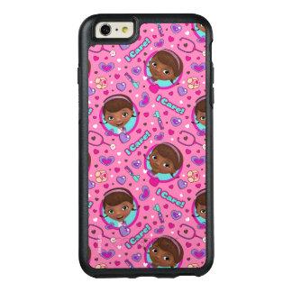 Funda Otterbox Para iPhone 6/6s Plus Modelo del rosa del cuidado del doc. McStuffins el