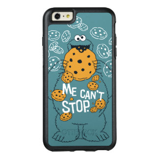 Funda Otterbox Para iPhone 6/6s Plus Monstruo de la galleta del Sesame Street el | - no