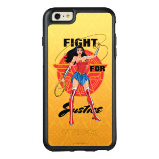 Funda Otterbox Para iPhone 6/6s Plus Mujer Maravilla con el lazo - lucha para la