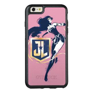 Funda Otterbox Para iPhone 6/6s Plus Mujer Maravilla de la liga de justicia el | y arte
