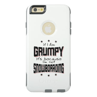 Funda Otterbox Para iPhone 6/6s Plus No SNOWBOARD GRUÑONA (negro)