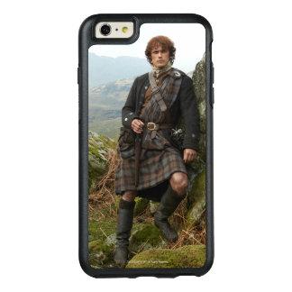Funda Otterbox Para iPhone 6/6s Plus Outlander el | Jamie Fraser - inclinándose en roca
