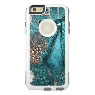 Funda Otterbox Para iPhone 6/6s Plus pavo real azul