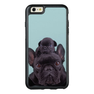 Funda Otterbox Para iPhone 6/6s Plus Perrito en la cabeza de su madre