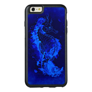 Funda Otterbox Para iPhone 6/6s Plus Pintura azul del Seahorse