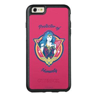 Funda Otterbox Para iPhone 6/6s Plus Plantilla gráfica tricolora de la Mujer Maravilla