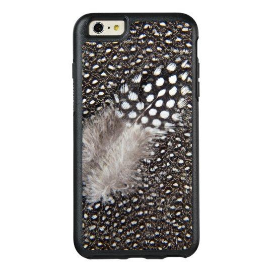 Funda Otterbox Para iPhone 6/6s Plus Pluma manchada de las aves de Guinea