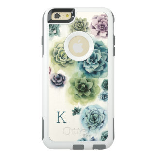 Funda Otterbox Para iPhone 6/6s Plus Racimo de Succulents