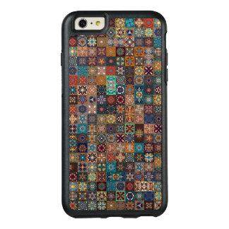 Funda Otterbox Para iPhone 6/6s Plus Remiendo del vintage con los elementos florales de