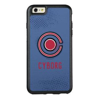 Funda Otterbox Para iPhone 6/6s Plus Símbolo del Cyborg del cepillo y del tono medio de