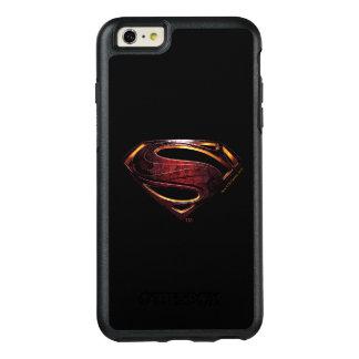 Funda Otterbox Para iPhone 6/6s Plus Símbolo metálico del superhombre de la liga de
