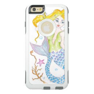 Funda Otterbox Para iPhone 6/6s Plus Sirena rubia linda