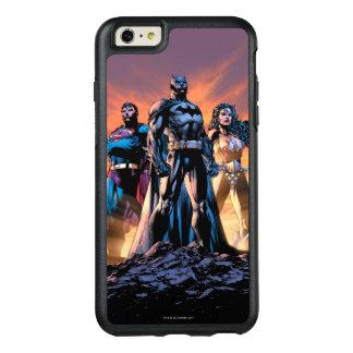 Funda Otterbox Para iPhone 6/6s Plus Superhombre, Batman, y trinidad de la Mujer