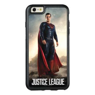 Funda Otterbox Para iPhone 6/6s Plus Superhombre de la liga de justicia el | en campo